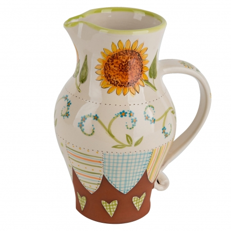 A photo of a hand made ceramic Jug by Kate Hackett