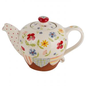 A photo of a hand made ceramic Teapot by Kate Hackett