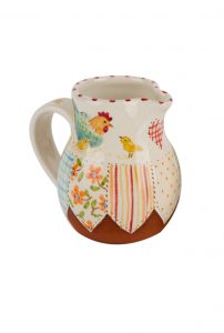 A photo of a hand-made ceramic Jug by Kate Hackett
