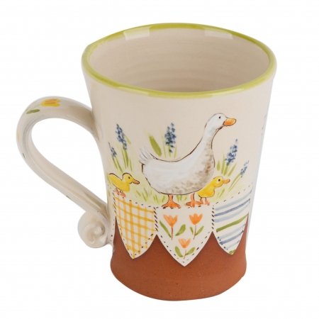 A photo of a hand made ceramic Mug by Kate Hackett