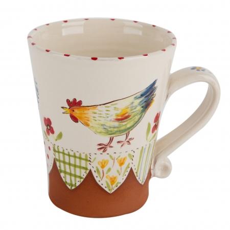 A photo of a hand made ceramic Mug by Kate Hackett