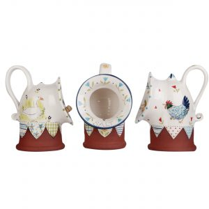 A photo of a selection of handmade ceramic salt pigs